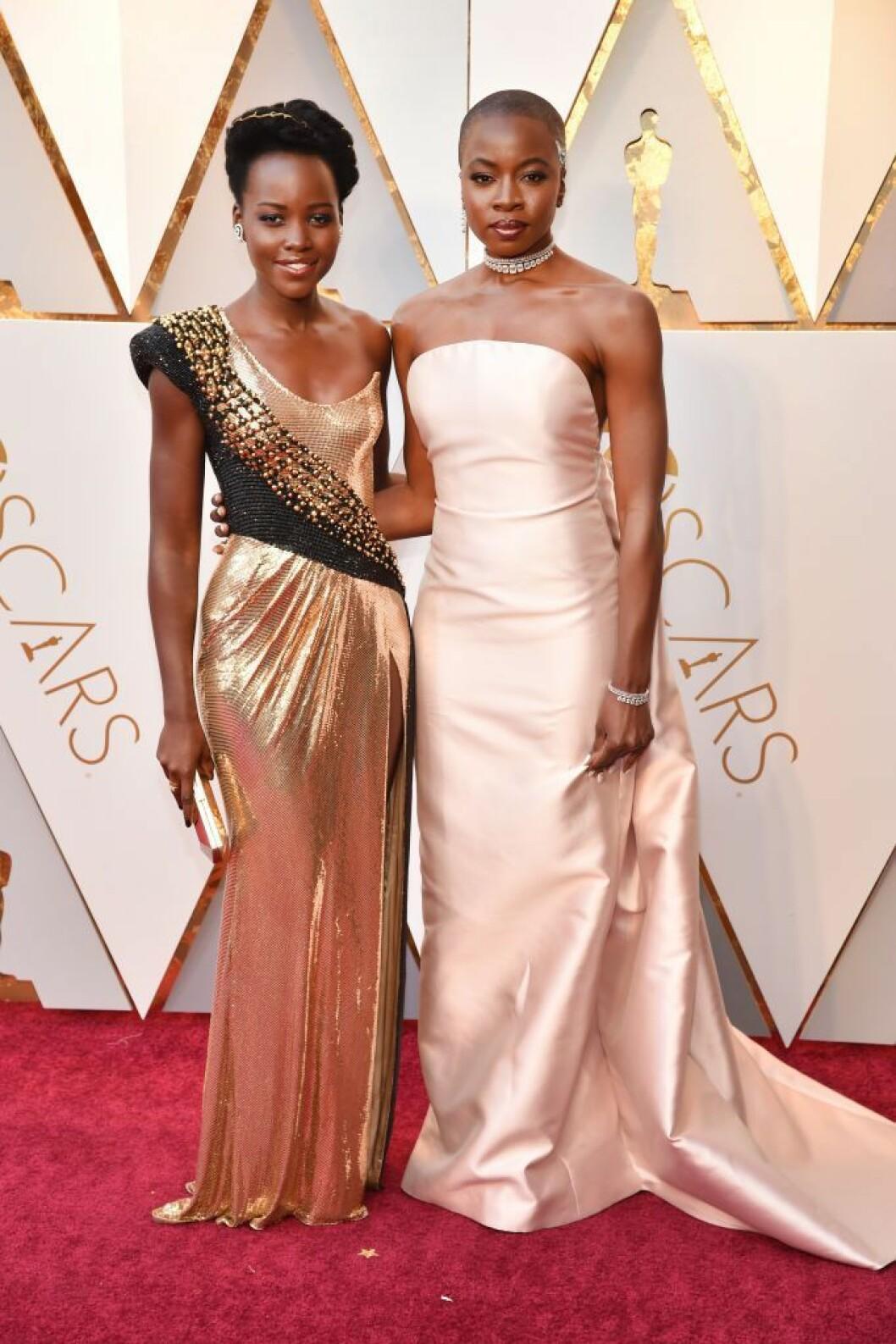 Lupita Nyong'o och Danai Gurira i Gabriela Hearst