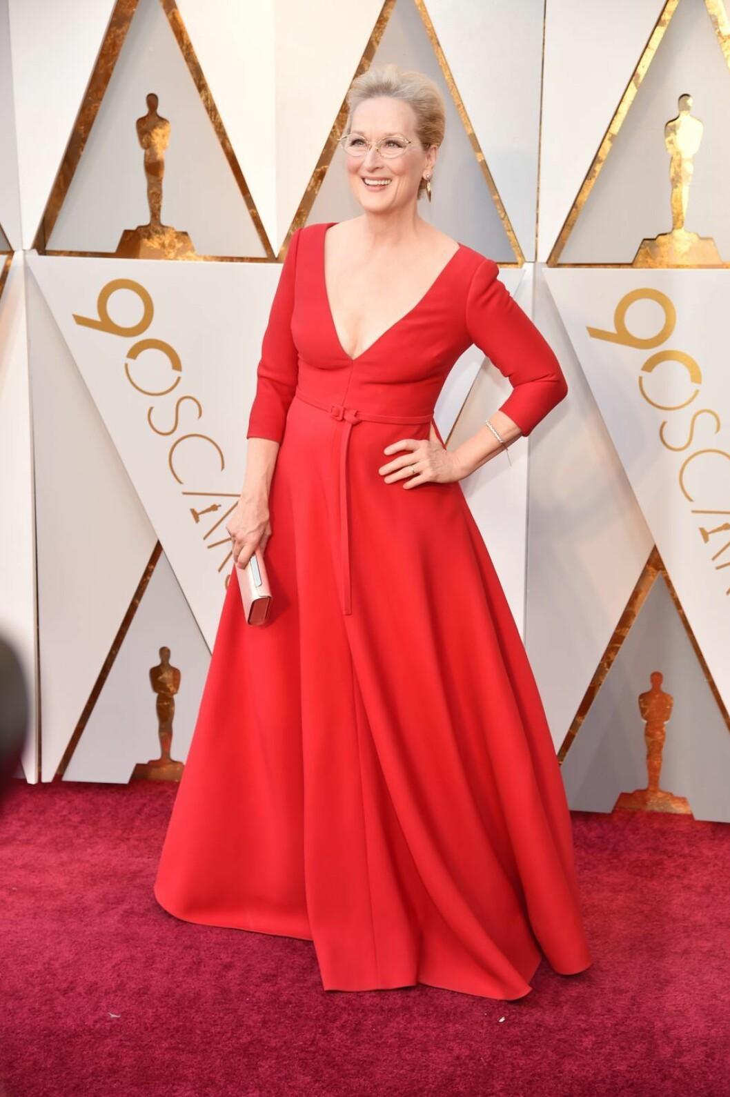 Meryl Streep på röda mattan