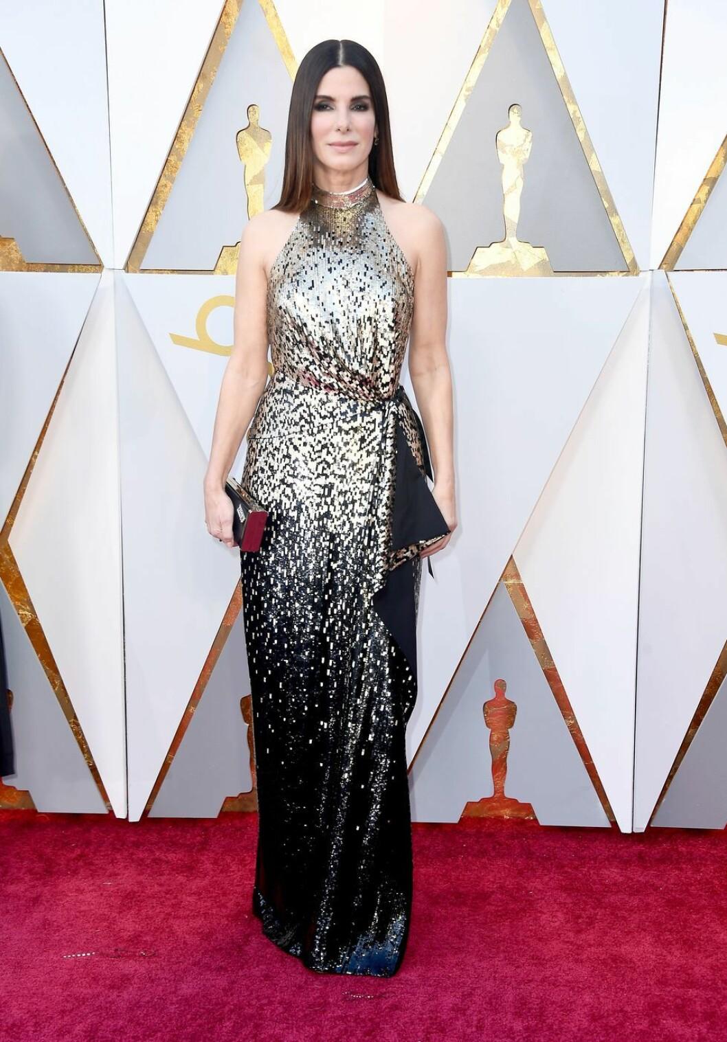 Sandra Bullock i Louis Vuitton