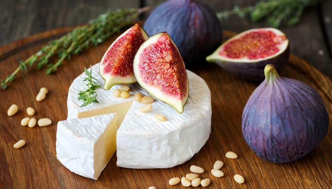 Portvin passar till ost och fikon.
