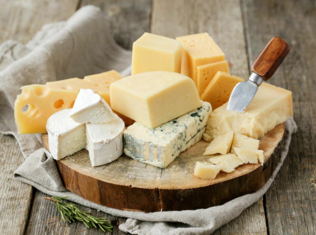 Ost är bra för hälsan! Foto: Shutterstock