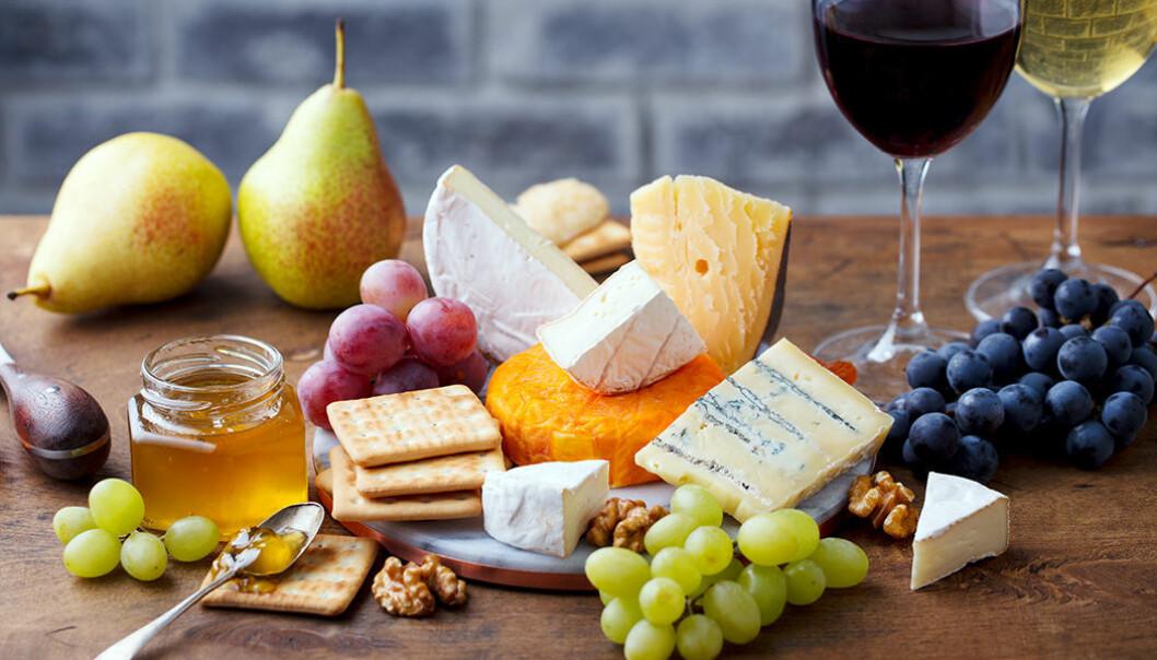 Njut av ost, vin, nötter och ekologisk frukt!