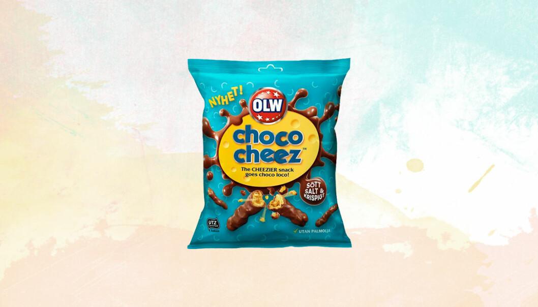 Produktnyheten Choco Cheez från OLW