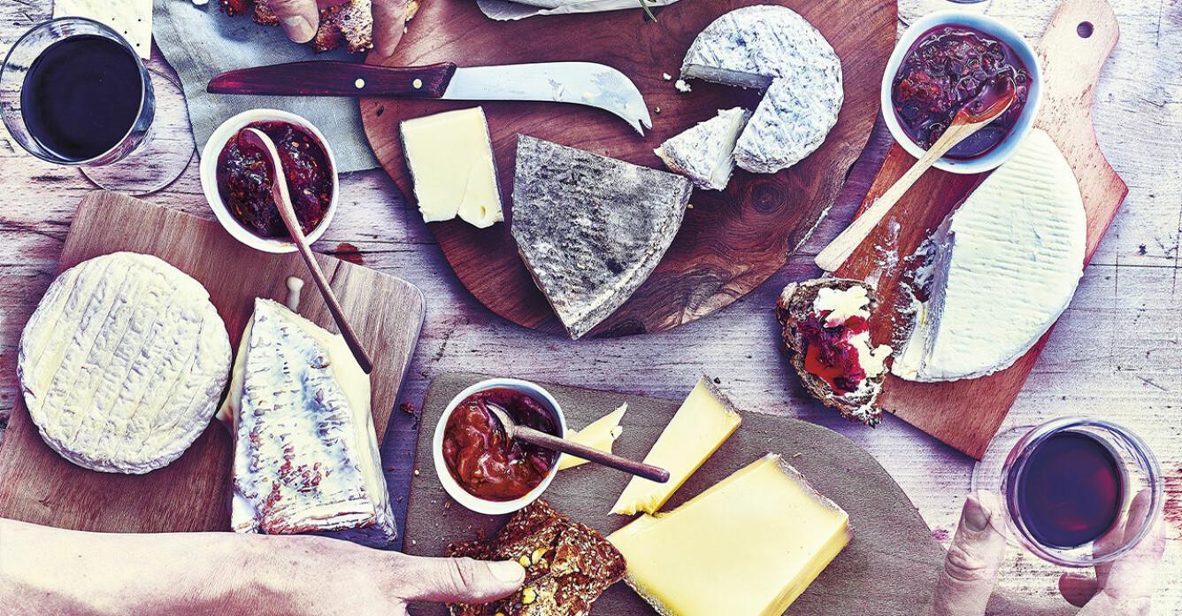 Ostbricka och recept på två sorters marmelad