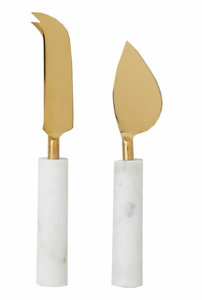 ostknivar med marmor från H&M home