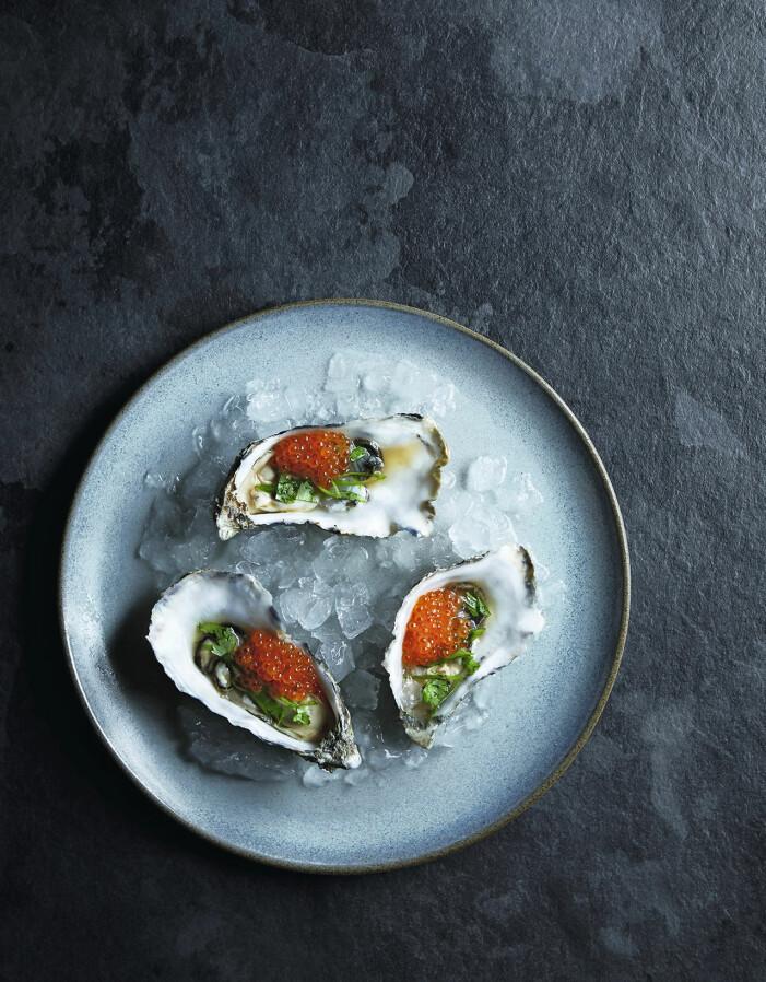 Recept på ostron med soja och rom