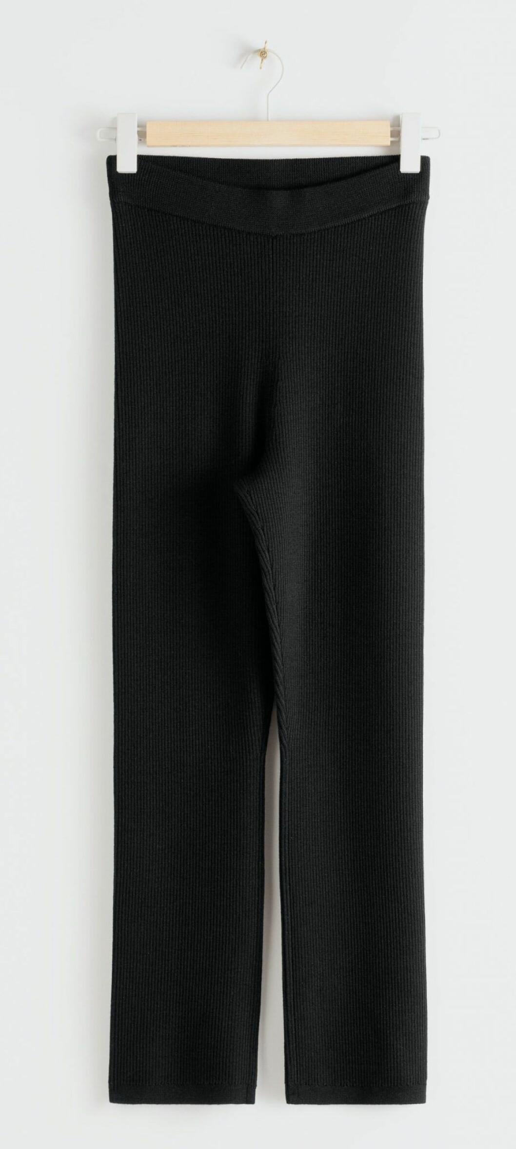 Ribbstickade leggings från & Other stories