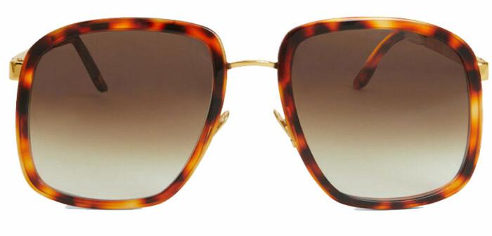 Oversized solglasögon från Rodebjer i fyrkantig form