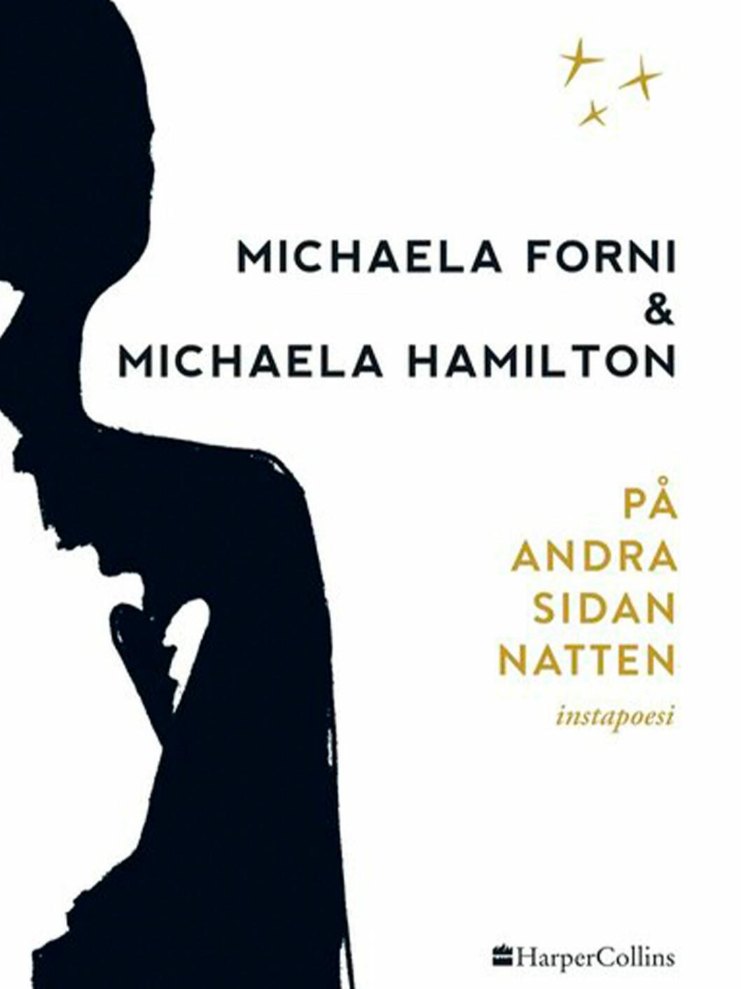 Bokomslag till På andra sidan natten, Ilustration av en person i vänstra hörnet.