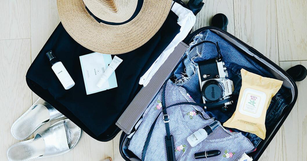 Bli proffs på att packa resväskan rätt med de här tipsen.
