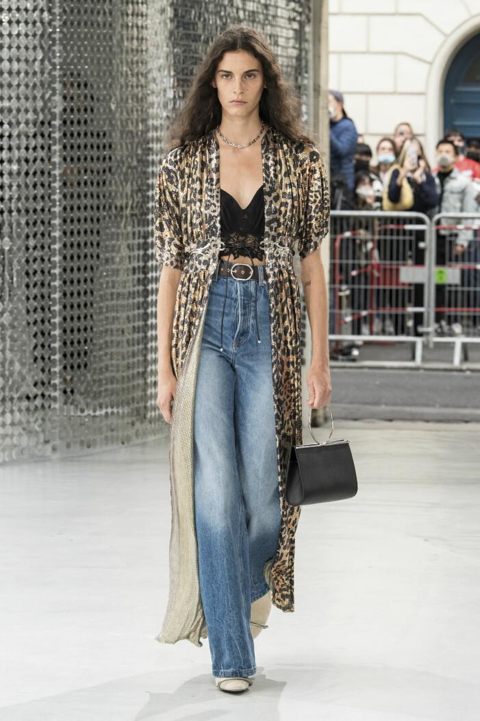 Vida höga jeans Paco Rabanne 2021