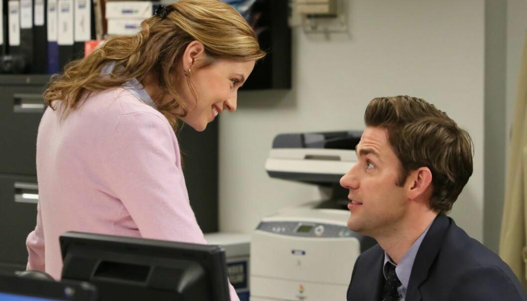 jim och pam i the office