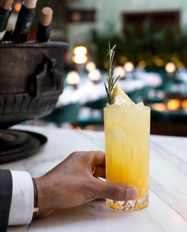 Papillon på Bank Hotel har ett bra utbud av alkoholfria drinkar.