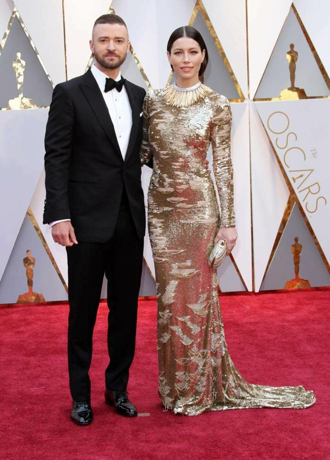 89th Annual Academy Awards (Oscars 2017) - Arrivals held at the Dolby Theatre at the Hollywood & Highland Center. Featuring: Jessica Biel, Justin Timberlake Where: Los Angeles, California, United States When: 26 Feb 2017 Credit: Adriana M. Barraza/WENN.com