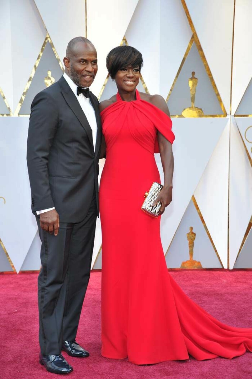 LOS ANGELES, CA - FEBRUARY 26: Julius Tennon and Viola Davis at the 89th Academy Awards at the Dolby Theatre in Los Angeles, California on February 26, 2017. Credit: mpi99/MediaPunch