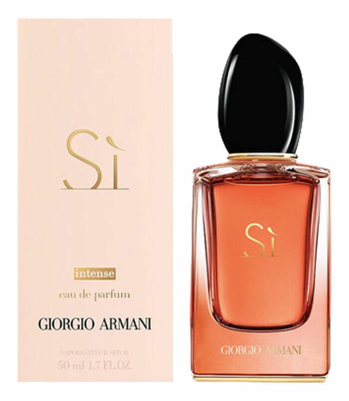 parfym si intense från armani