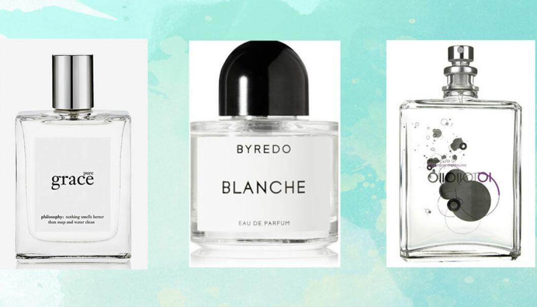 parfymer som doftar nytvättat