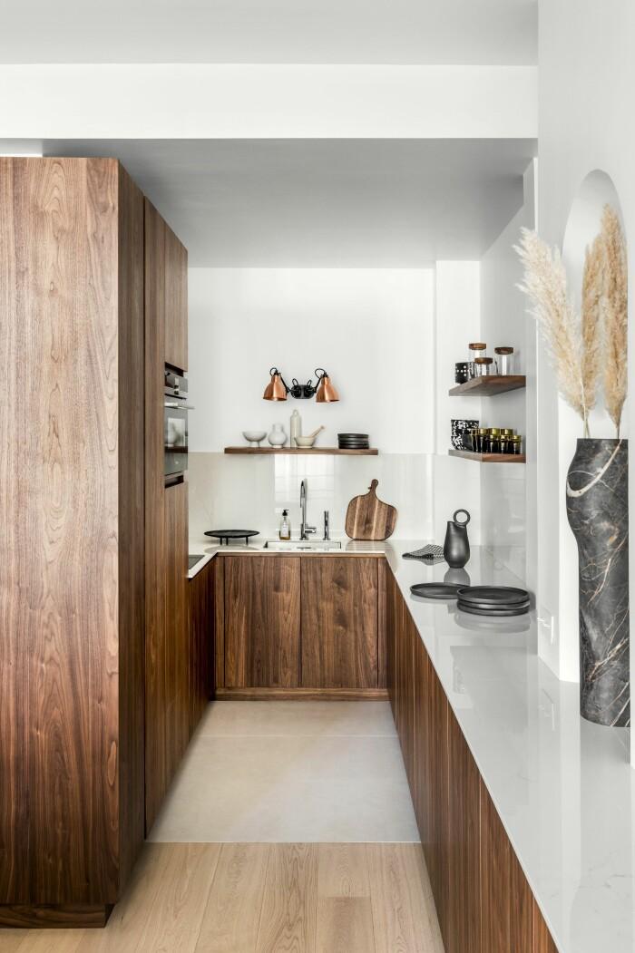 Paris 45 kvadratmeter köket