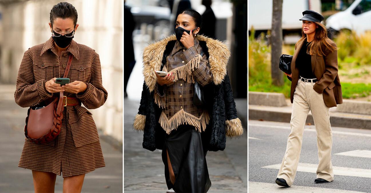 Paris fashion week streetstyle SS21.