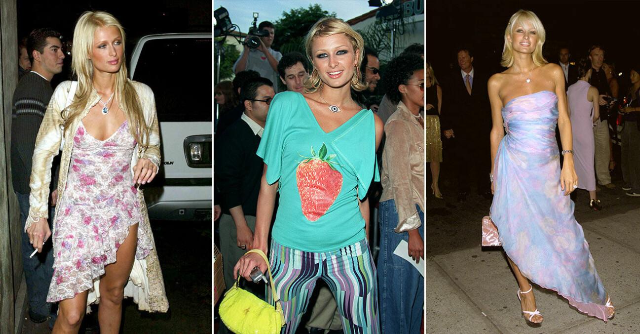 Paris Hiltons oförglömliga looks från 2000-talet