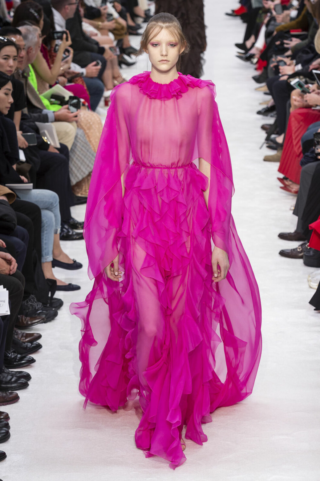 Valentino aw 19 rosa klänning