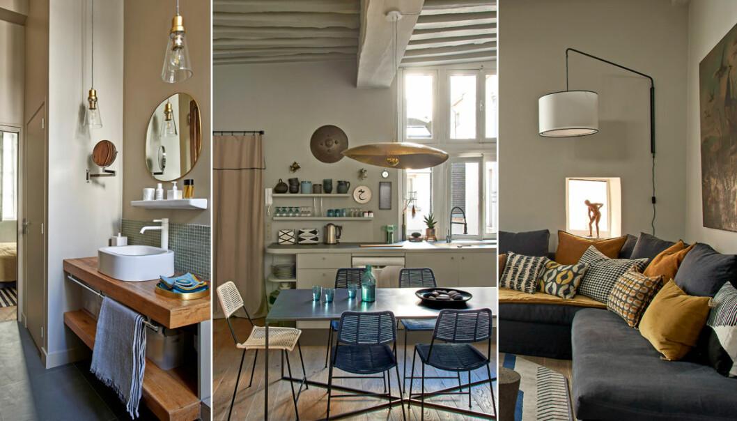 Stilren elegans hemma hos designern Pierre de Gastines i Paris