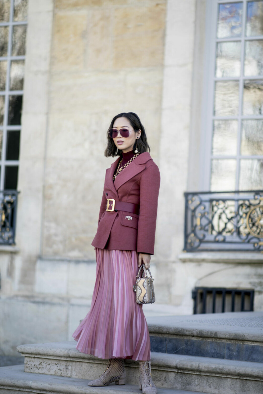 Streetstyle Paris FW, dior look.
