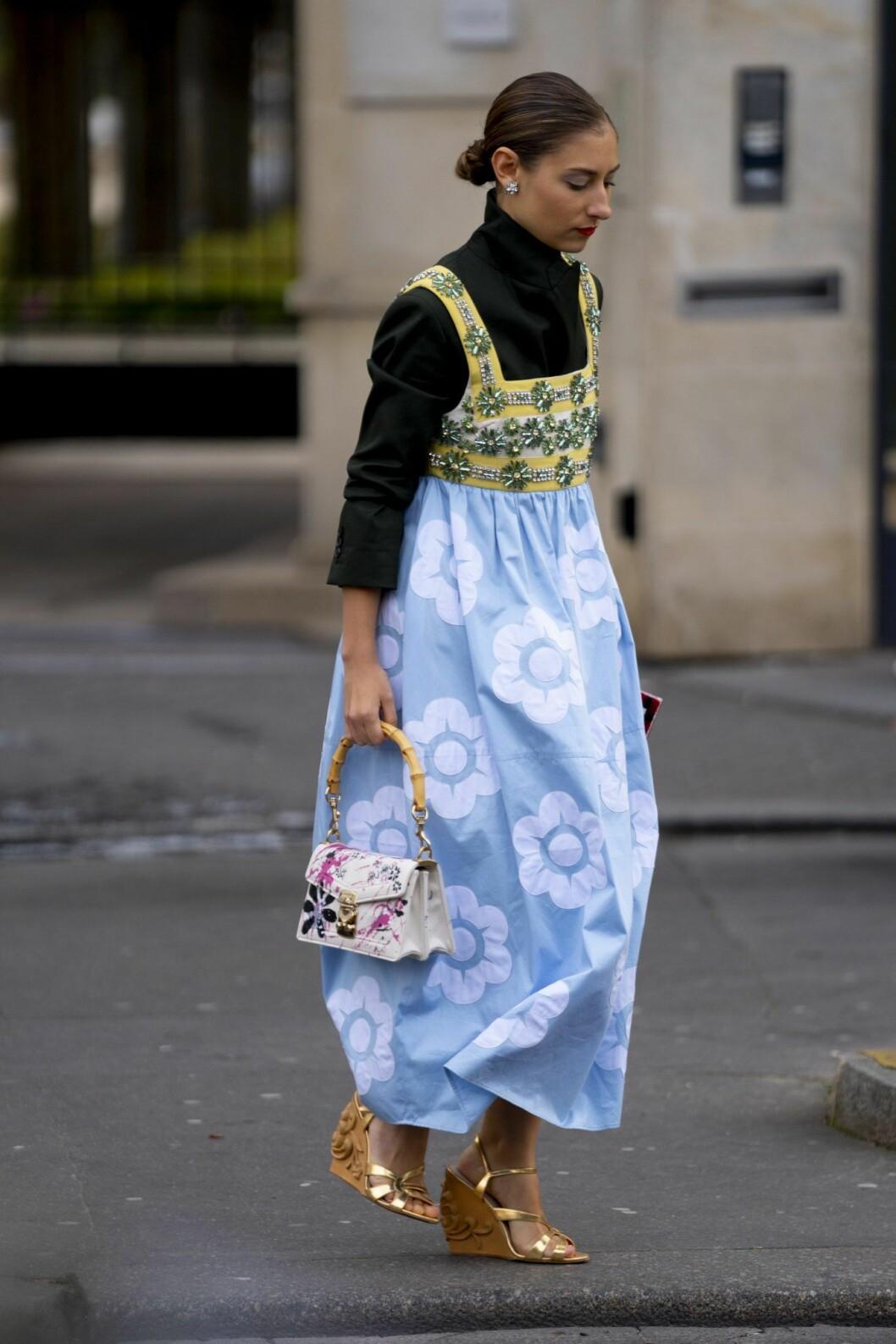 Streetstyle Paris fashion week.