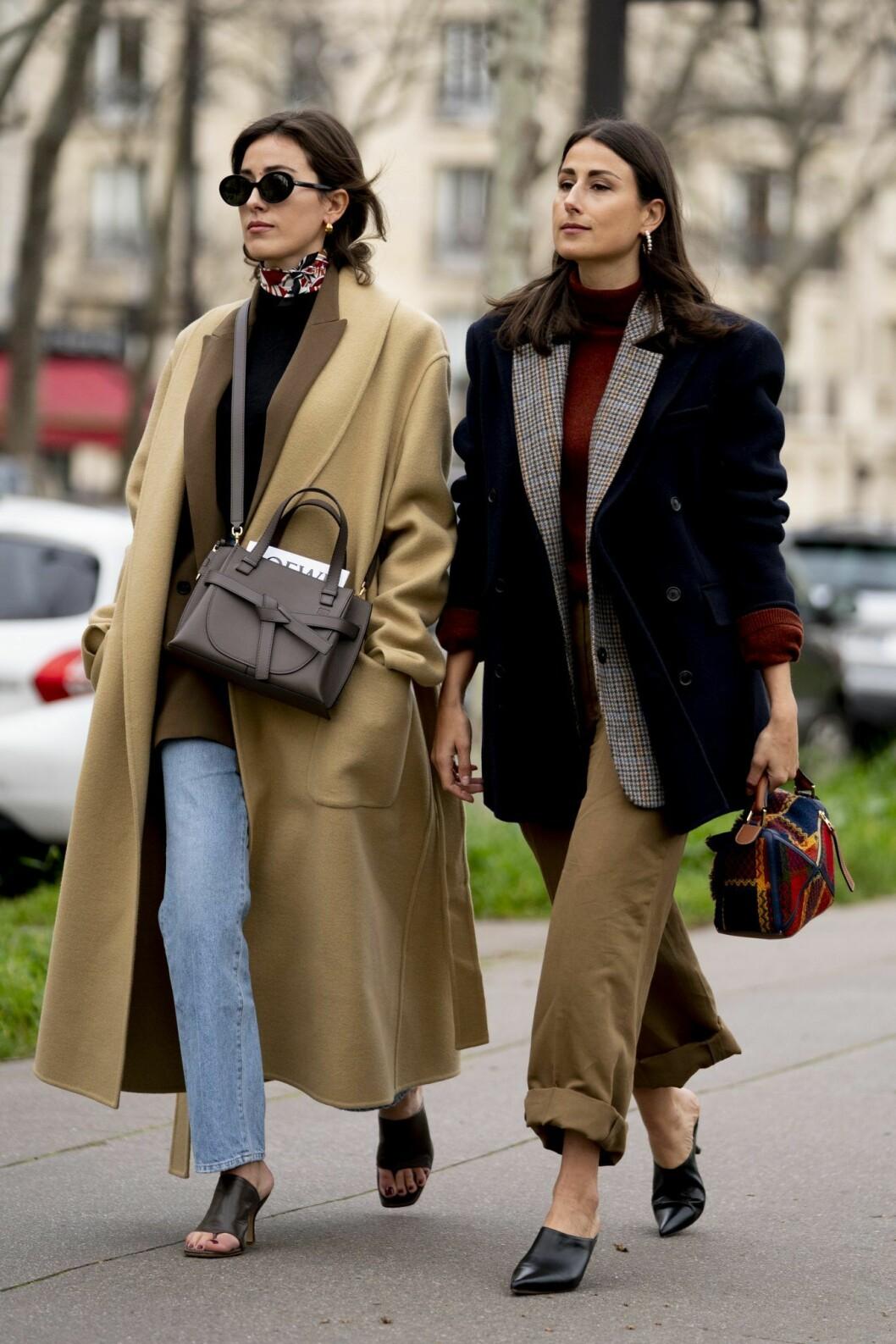 polotröja streetstyle Paris Fashion Week.