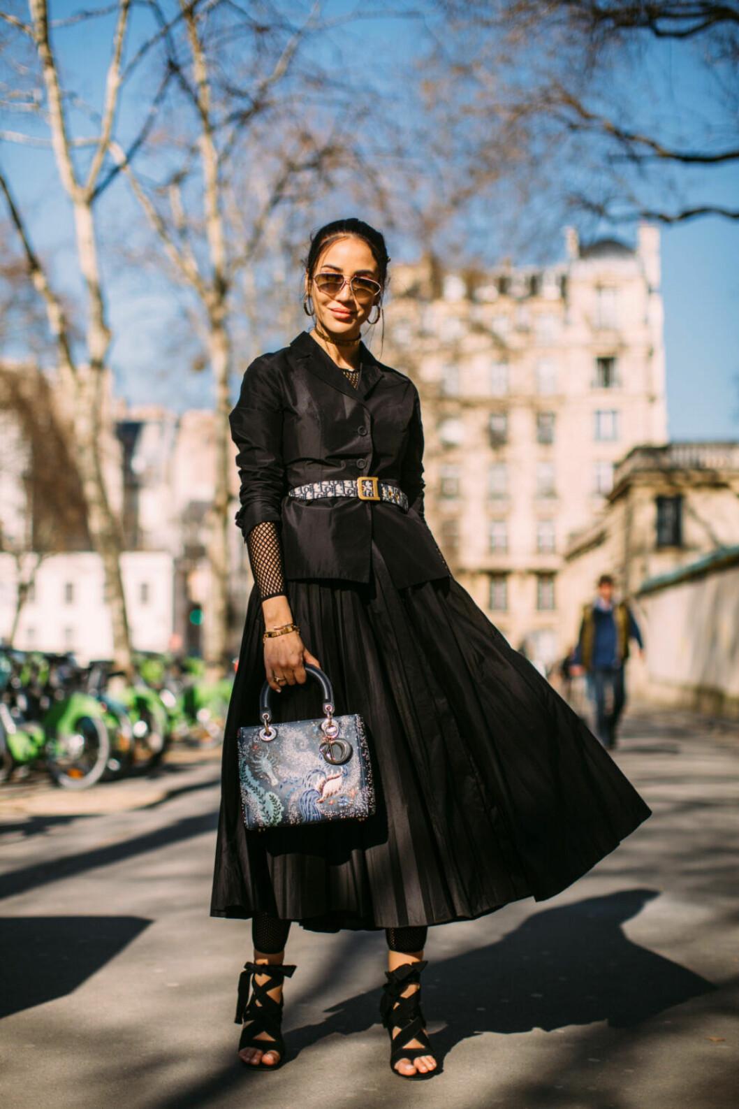 Streetstyle Paris FW, Tamara Kalinic.