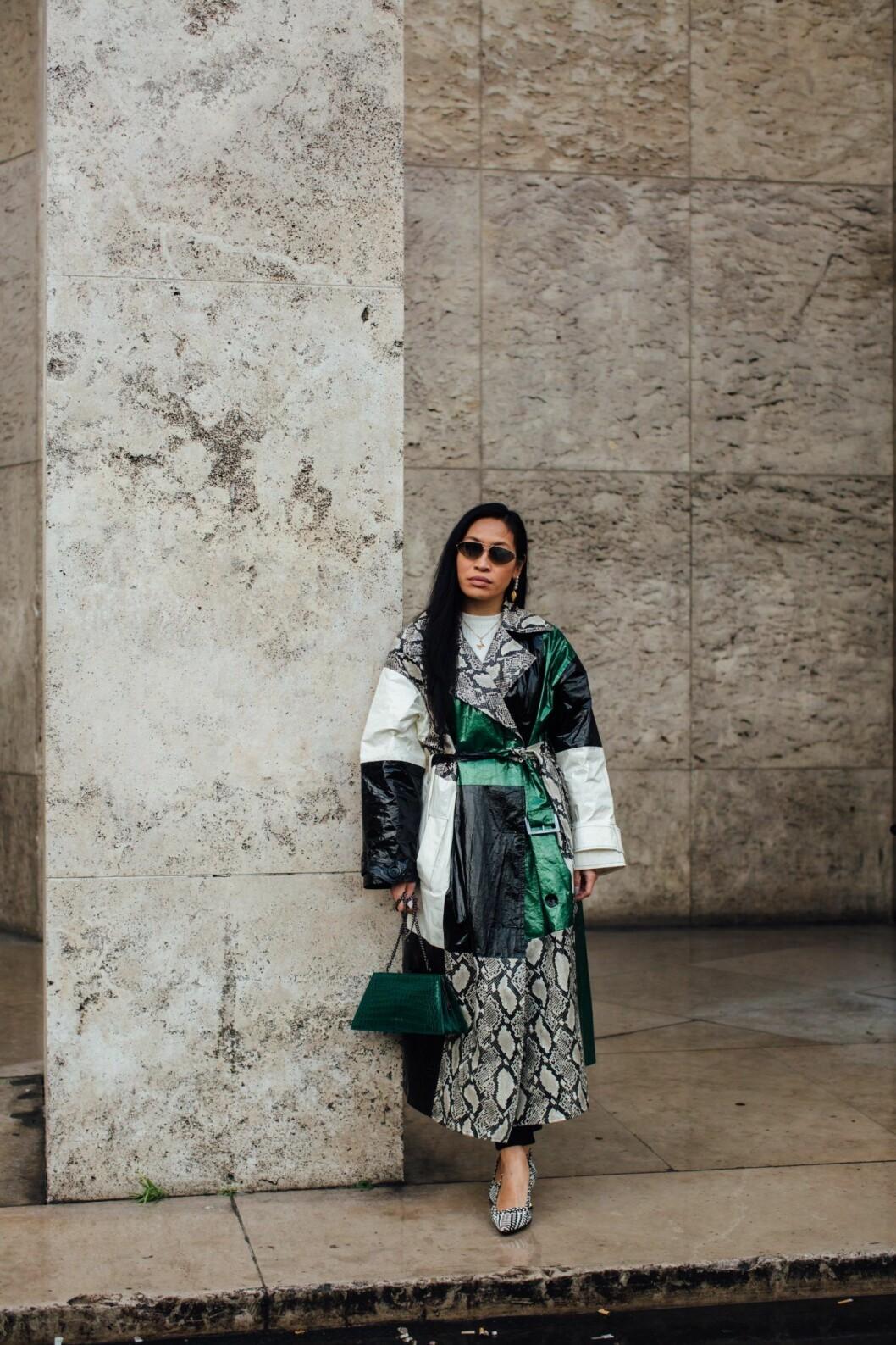 Rutig Streetstyle Paris Fashion Week AW20.