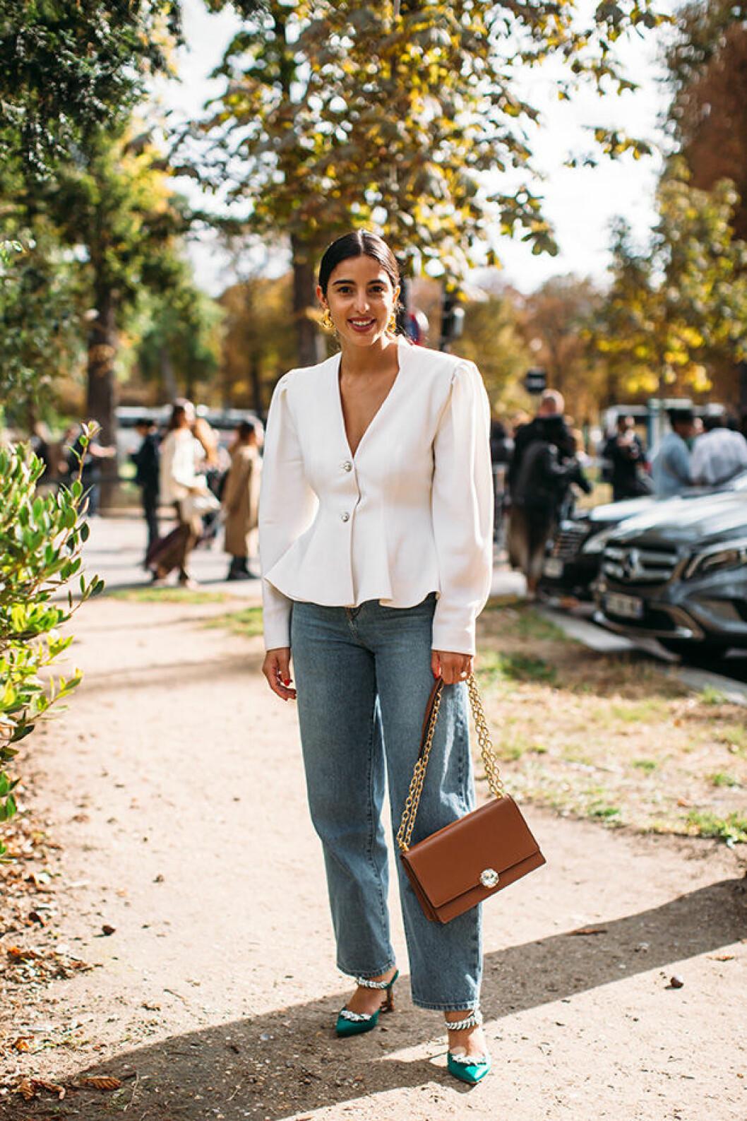 Streetstyleinspiration från modeveckan i Paris.