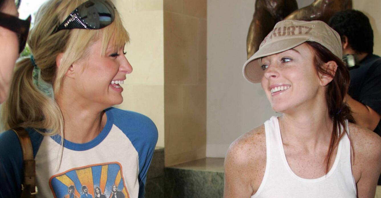 Paris Hilton berättar om sveket från Lindsay Lohan