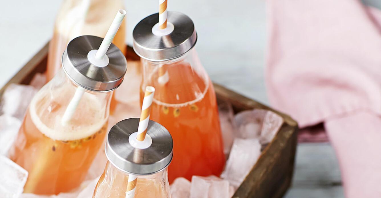 Recept på sötsyrlig passionsfruktsdaiquiri