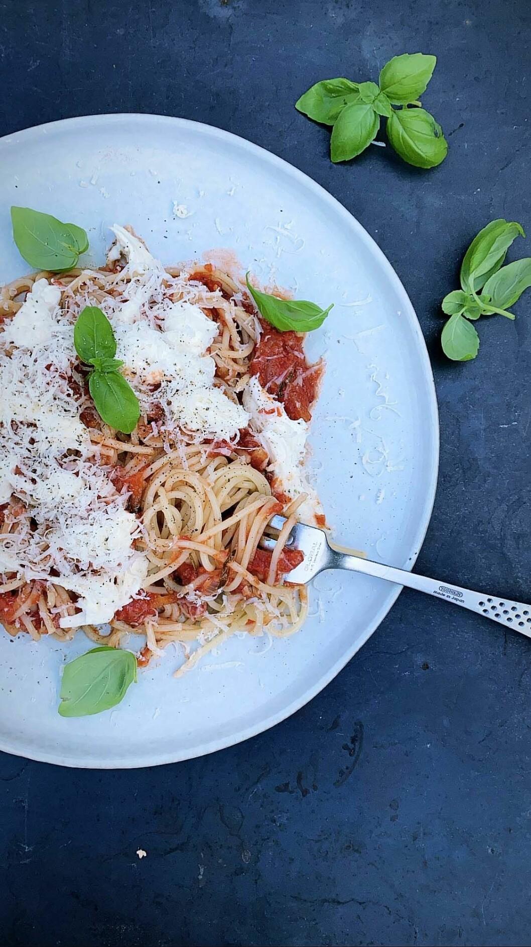 Recept på pasta arrabiata