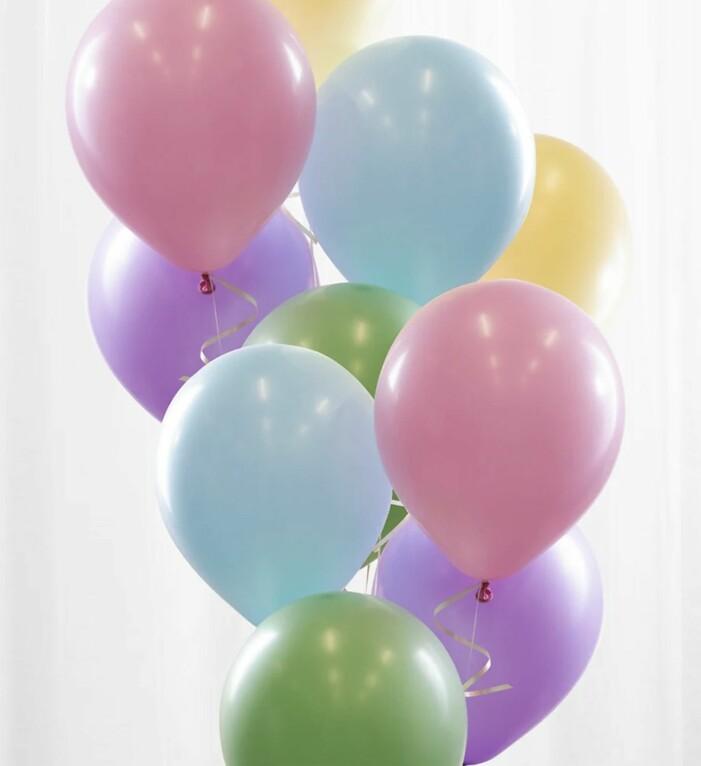 pastellballonger från Partykungen