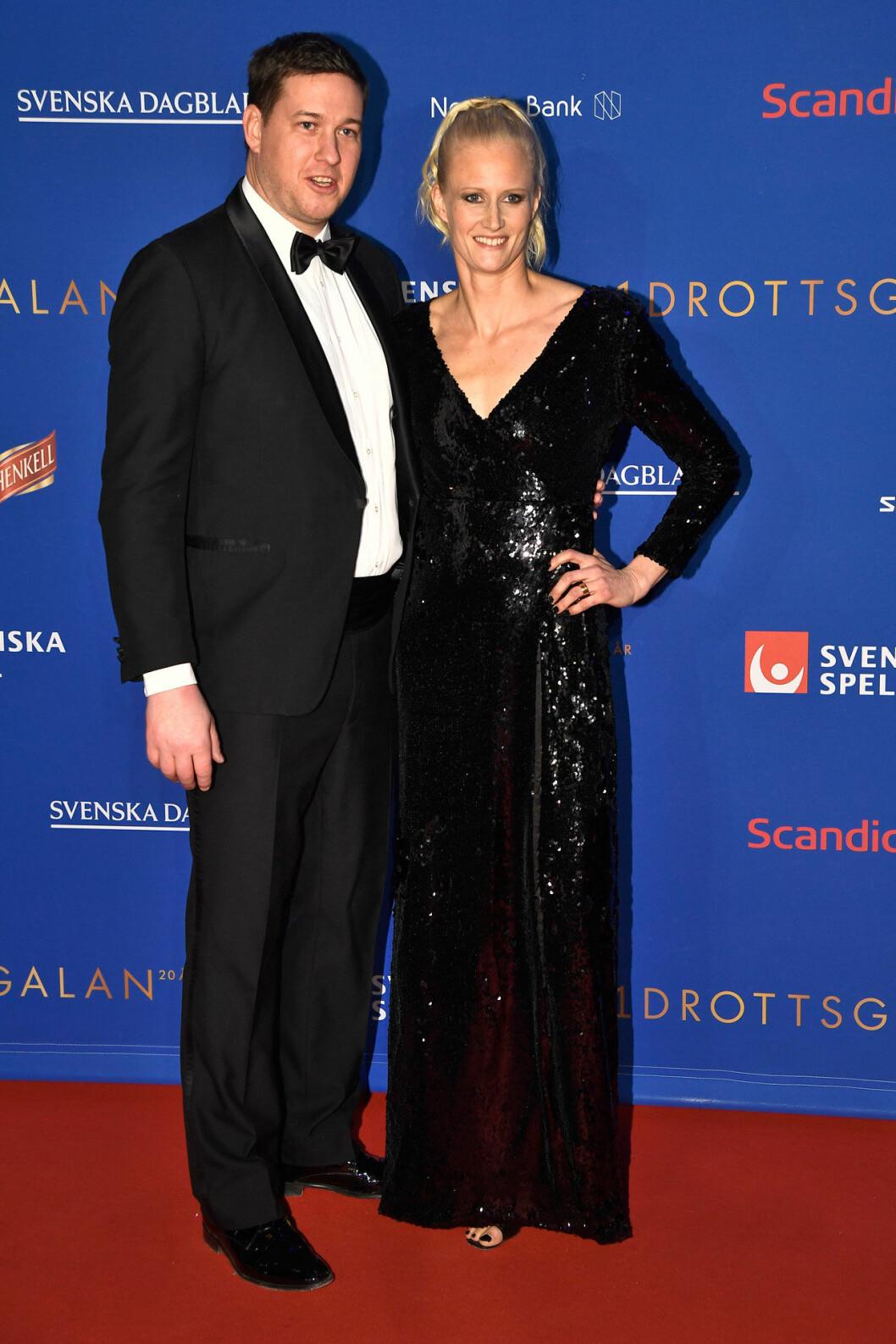 Röda mattan, Patrik och Carolina Klüft
