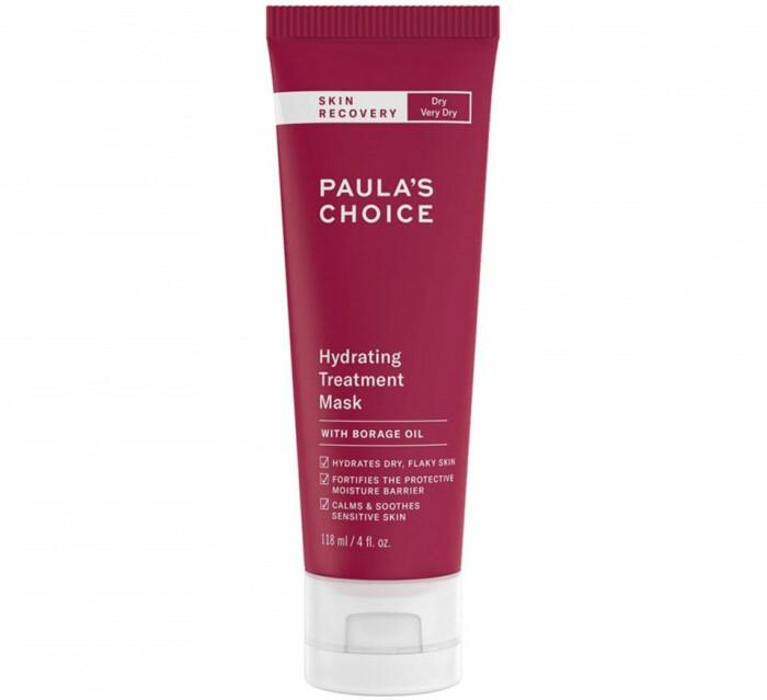 paula's choice hydrating treatment mask ansiktsmask rosacea röd hy