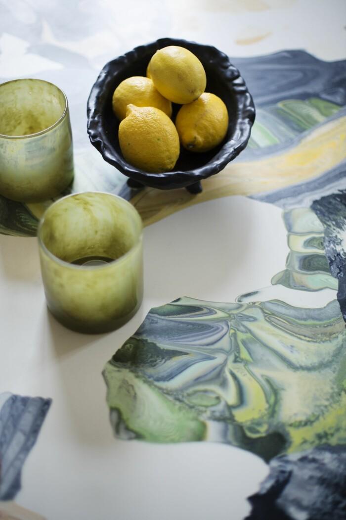 Hemma hos väskdesignern Paulina Liffner i Vasastan i Stockholm stilleben