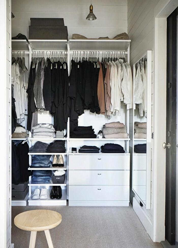 Walk in closet hos Pella Hedeby