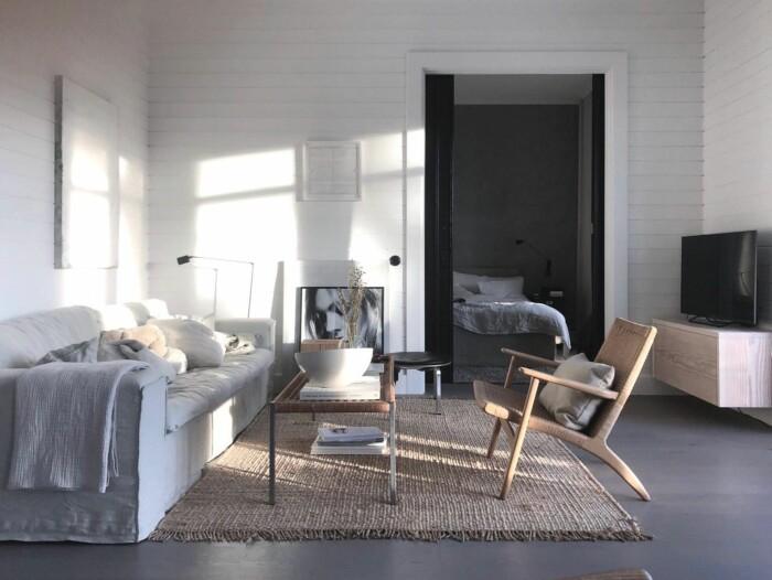 vardagsrum hemma hos Pella Hedeby
