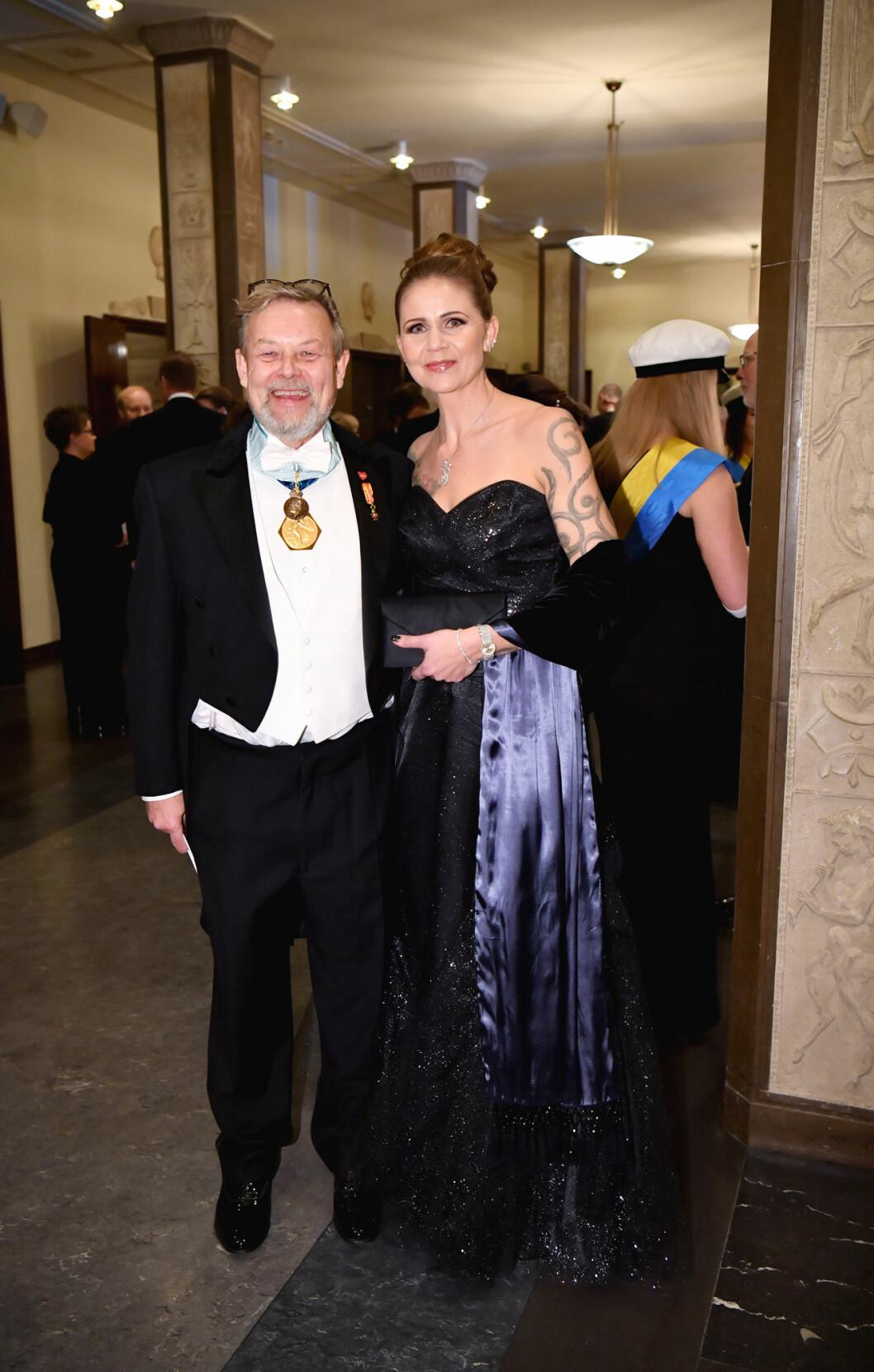 "Peter ""Poker"" Wallenberg med fru Klara Wallenberg på Nobel 2019"