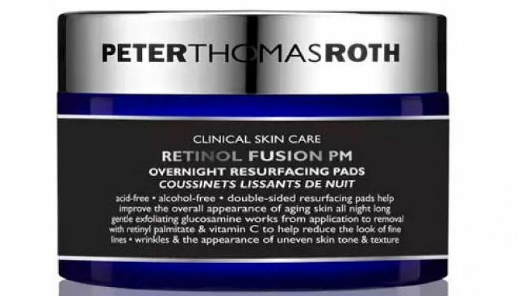 peter thomas roth retinol pads bäst i test