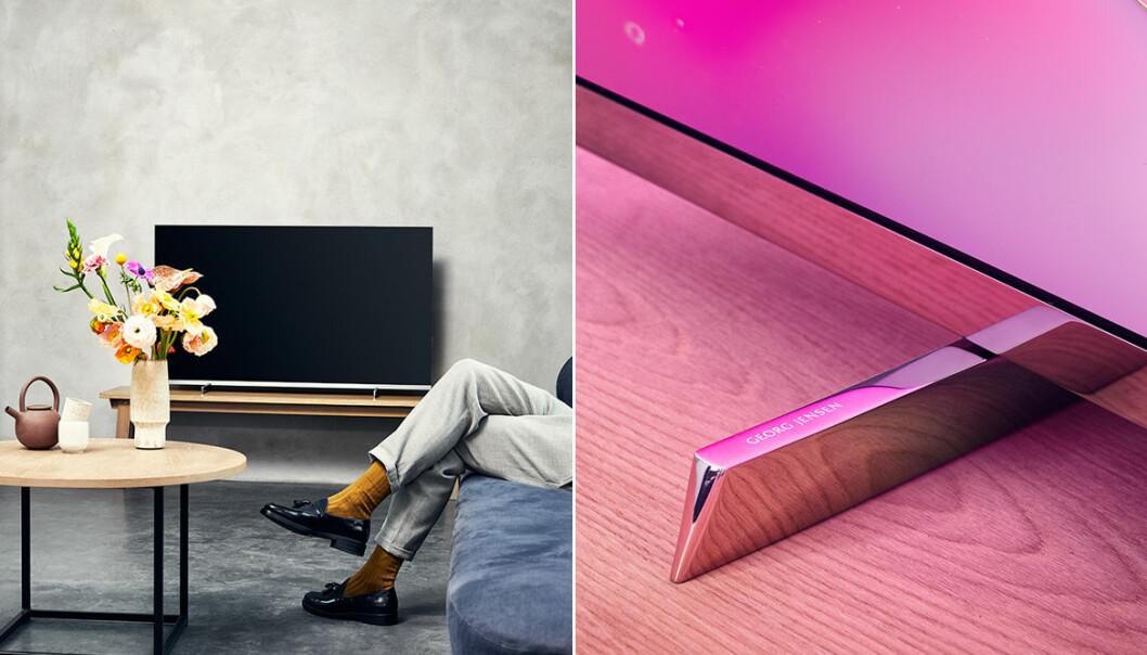Philips lanserar exklusiv tv – i samarbete med Georg Jensen