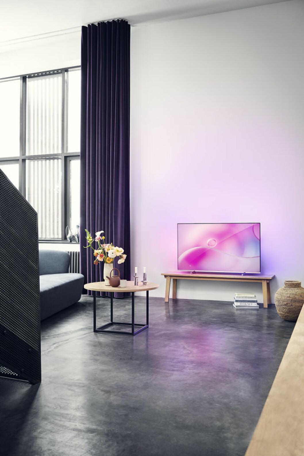 Tv från samarbetet Philips x Georg Jensen.