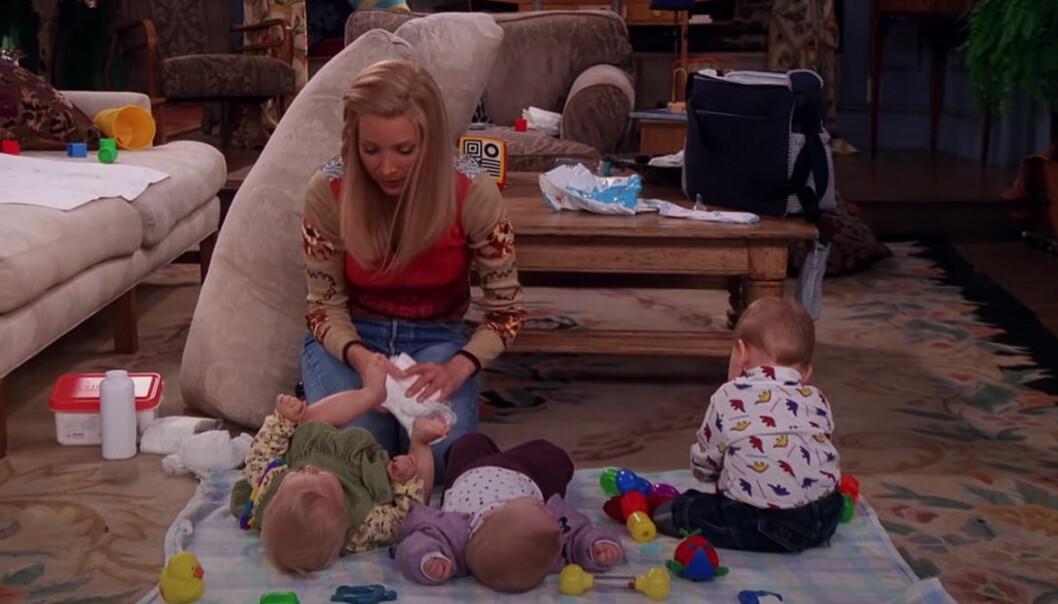 Trillingarna som Phoebe födde i Vänner har vuxit upp – bilden visar syskonen idag