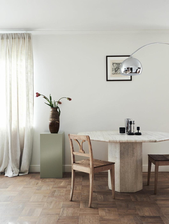 Stilfullt minimalistiskt hem med personlig stil