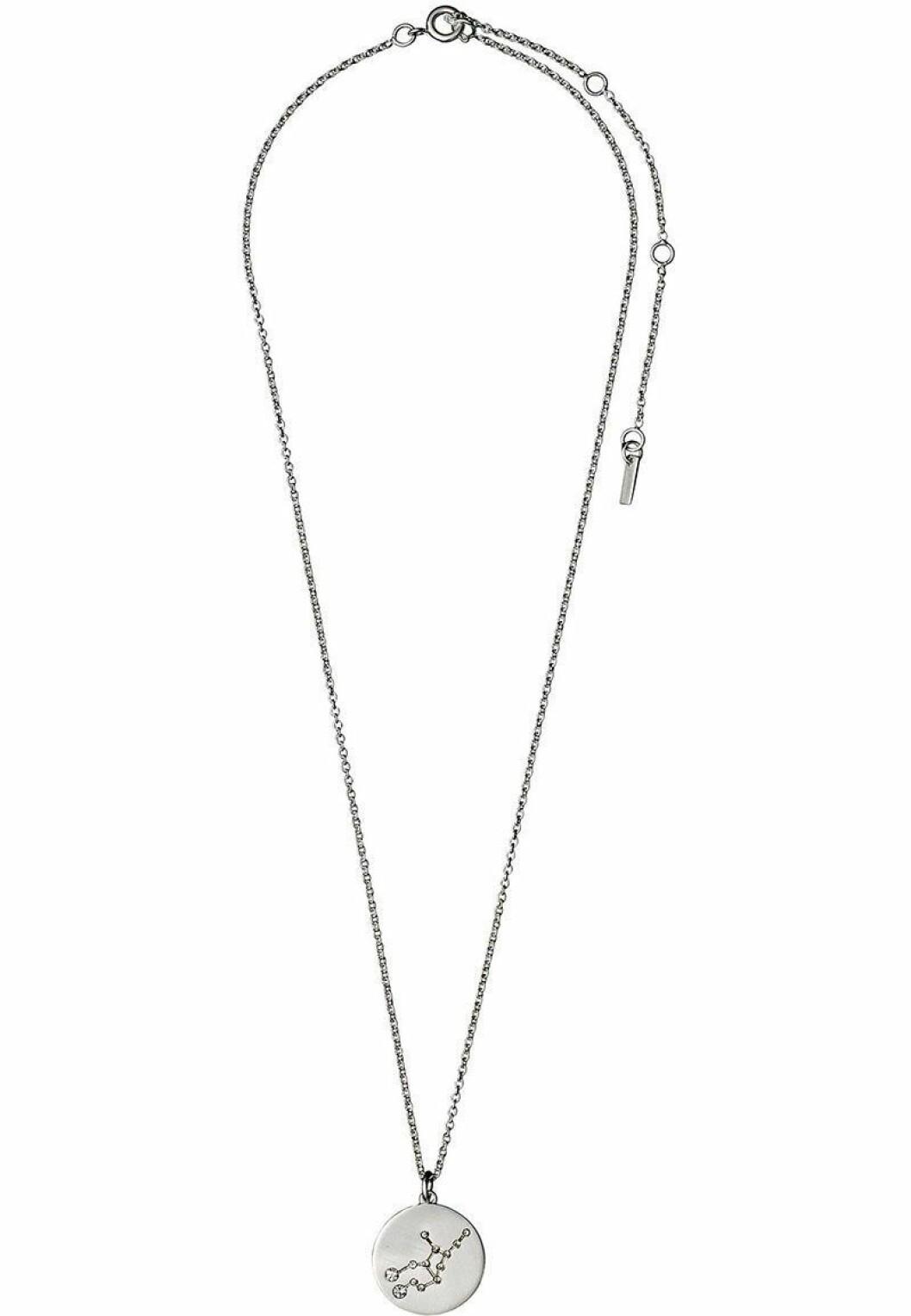 Halsband från Pilgrim med stjärntecknet jungfrun