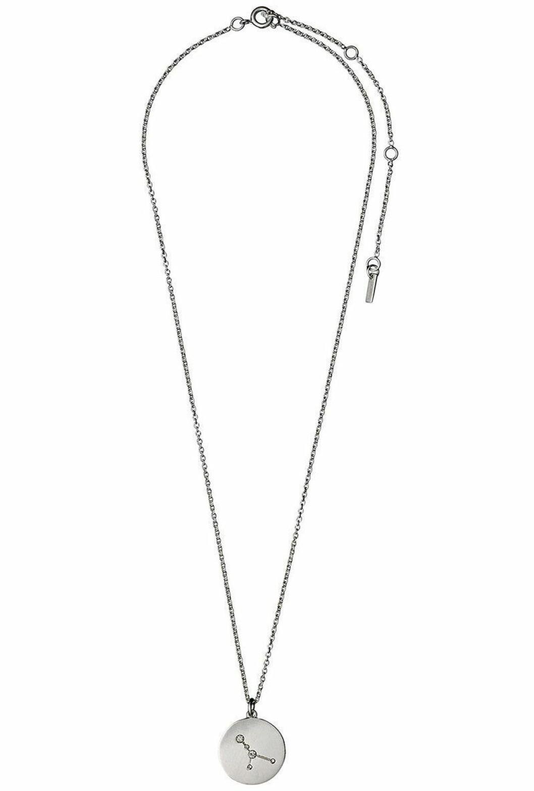 Halsband från Pilgrim med stjärntecknet kräftan