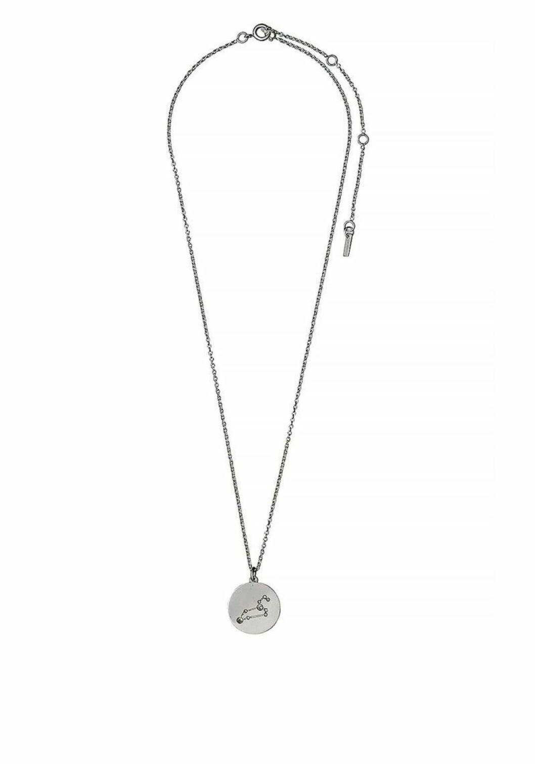 Halsband från Pilgrim med stjärntecken, lejonet